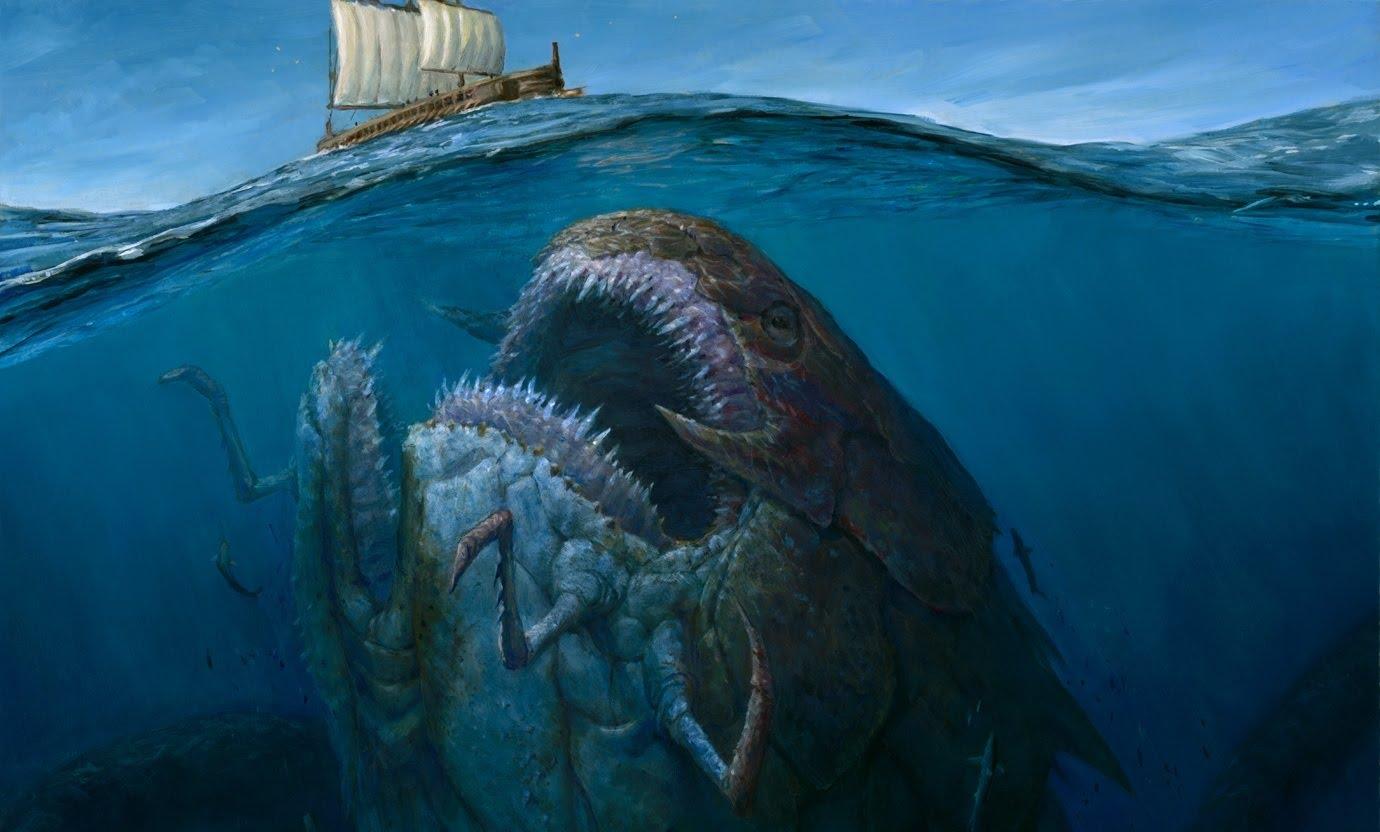 1380x832 > Sea Monster Wallpapers