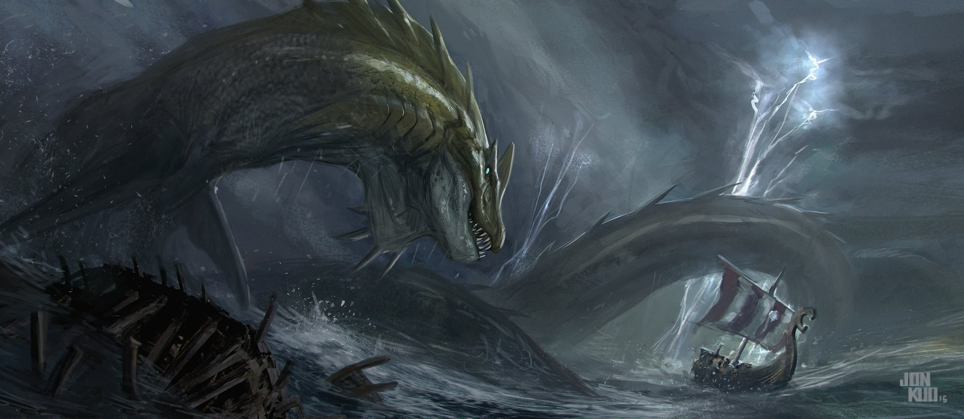 Images of Sea Monster | 1920x835