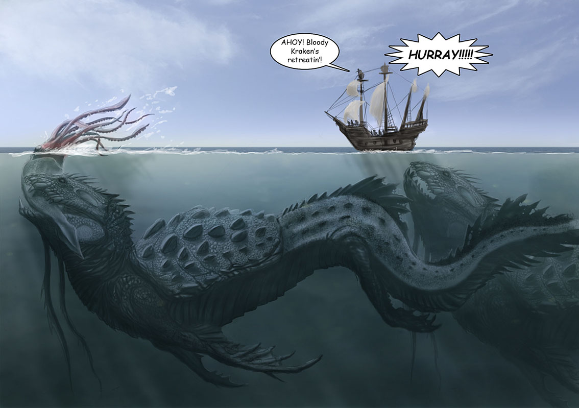 Images of Sea Monster | 1134x799