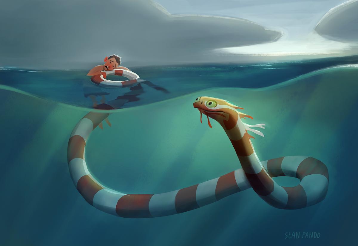 Sea Monster Pics, Fantasy Collection