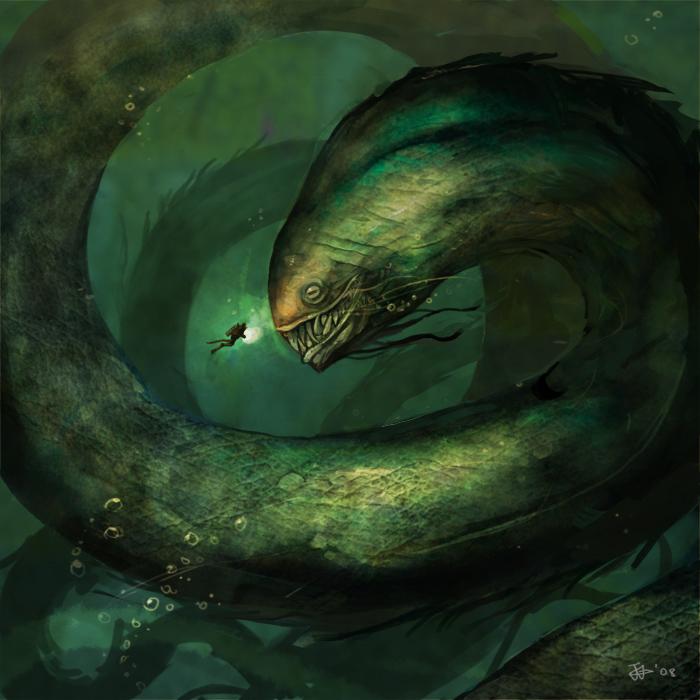 Sea Monster Backgrounds, Compatible - PC, Mobile, Gadgets| 700x700 px