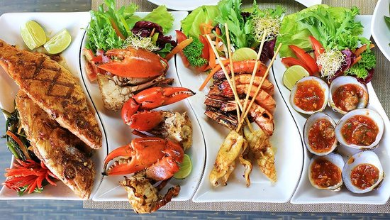 Seafood Backgrounds, Compatible - PC, Mobile, Gadgets  550x310 px