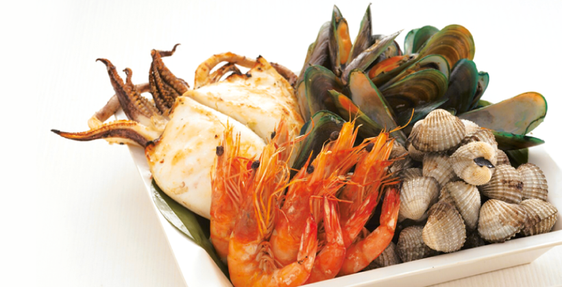 820x419 > Seafood Wallpapers