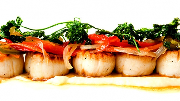 595x333 > Seafood Wallpapers