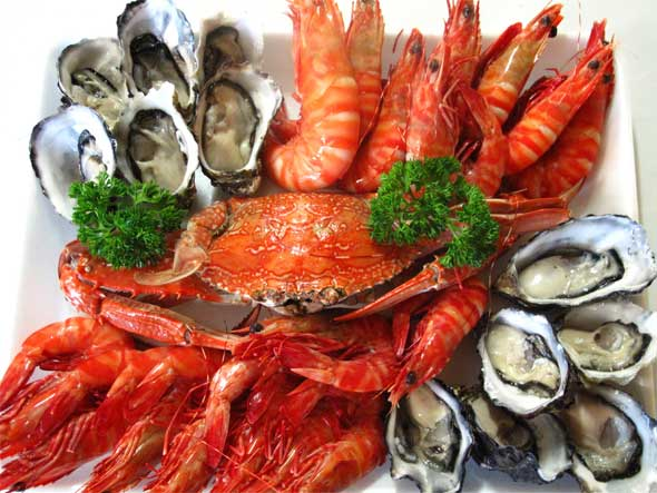 590x443 > Seafood Wallpapers