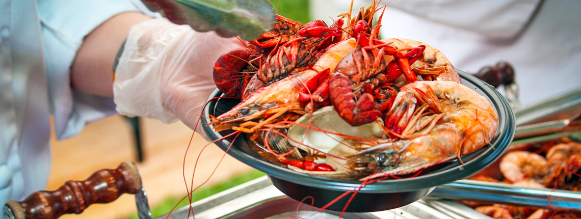 HD Quality Wallpaper   Collection: Food, 1140x430 Seafood