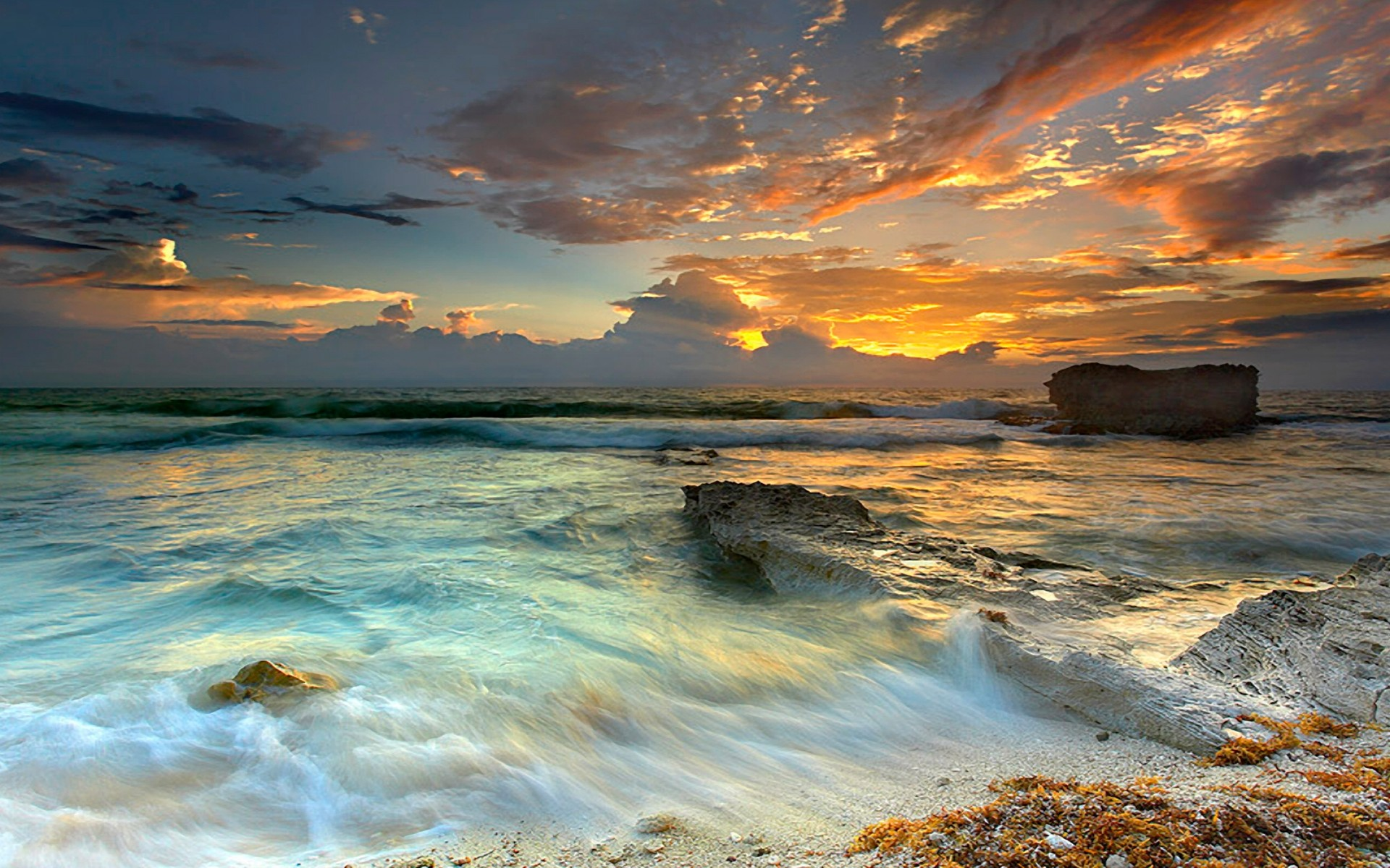 HD Quality Wallpaper | Collection: Artistic, 1920x1200 Seascape