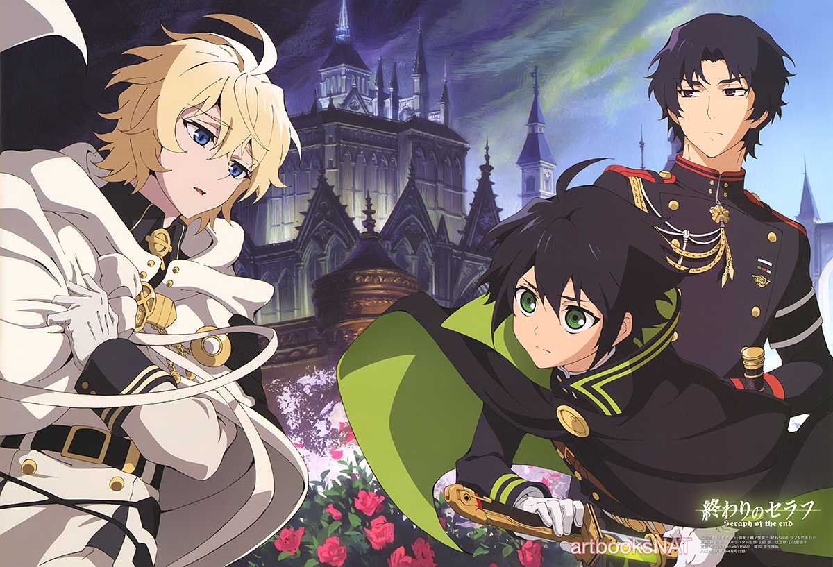 Seraph Of The End Wallpapers Anime Hq Seraph Of The End Pictures