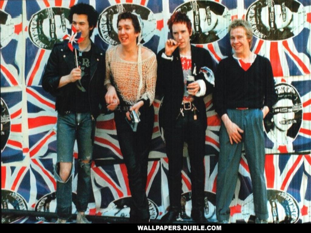 HQ Sex Pistols Wallpapers | File 125.36Kb