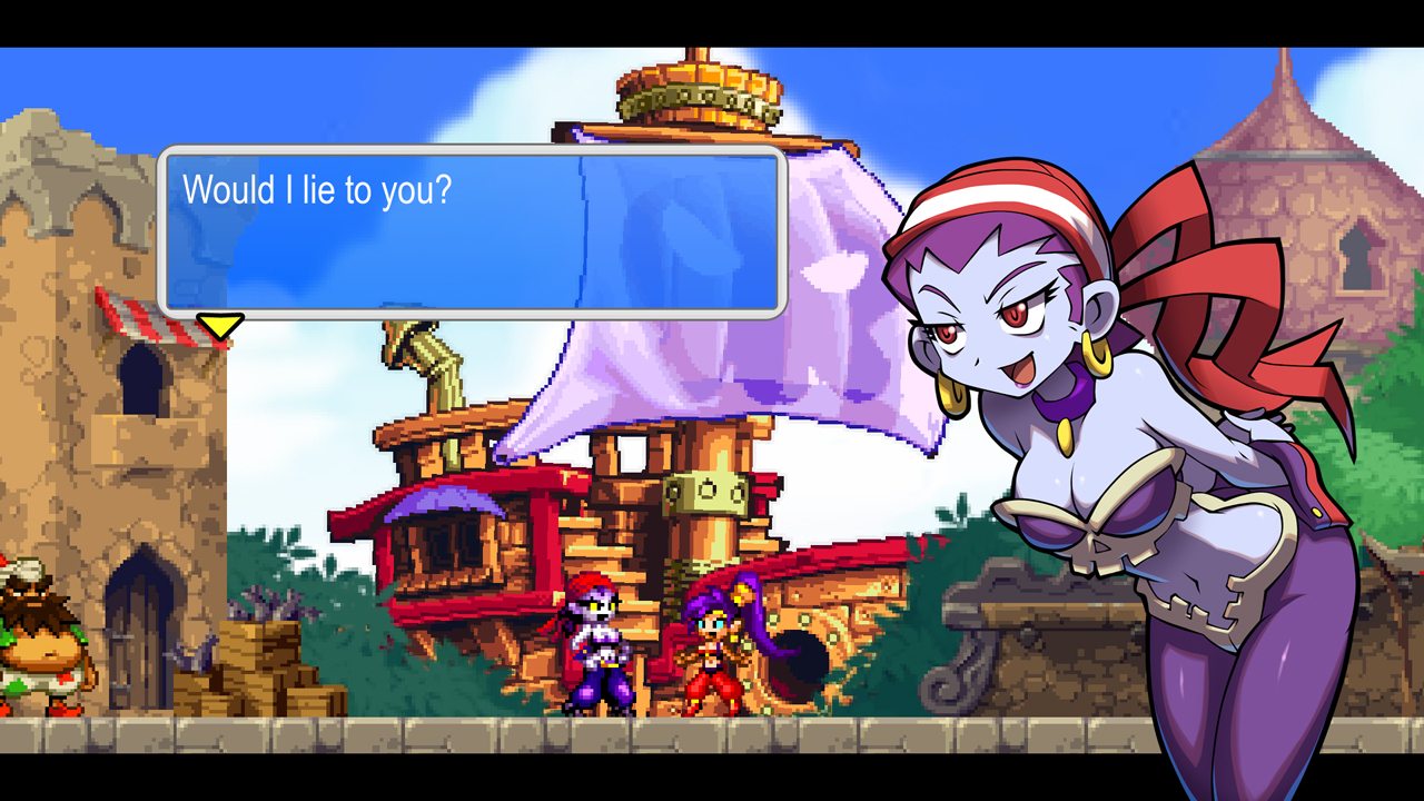 Shantae And The Pirate S Curse Wallpapers Video Game Hq Shantae