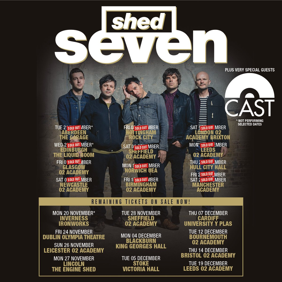 1200x1200 > Shed Seven Wallpapers