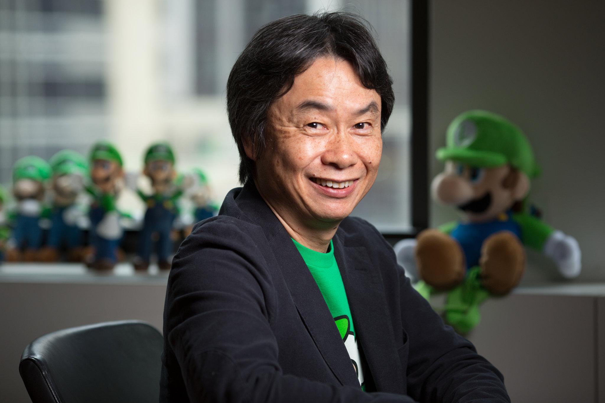 2048x1365 > Shigeru Miyamoto Wallpapers