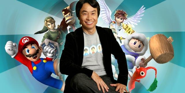 HD Quality Wallpaper | Collection: Men, 641x324 Shigeru Miyamoto