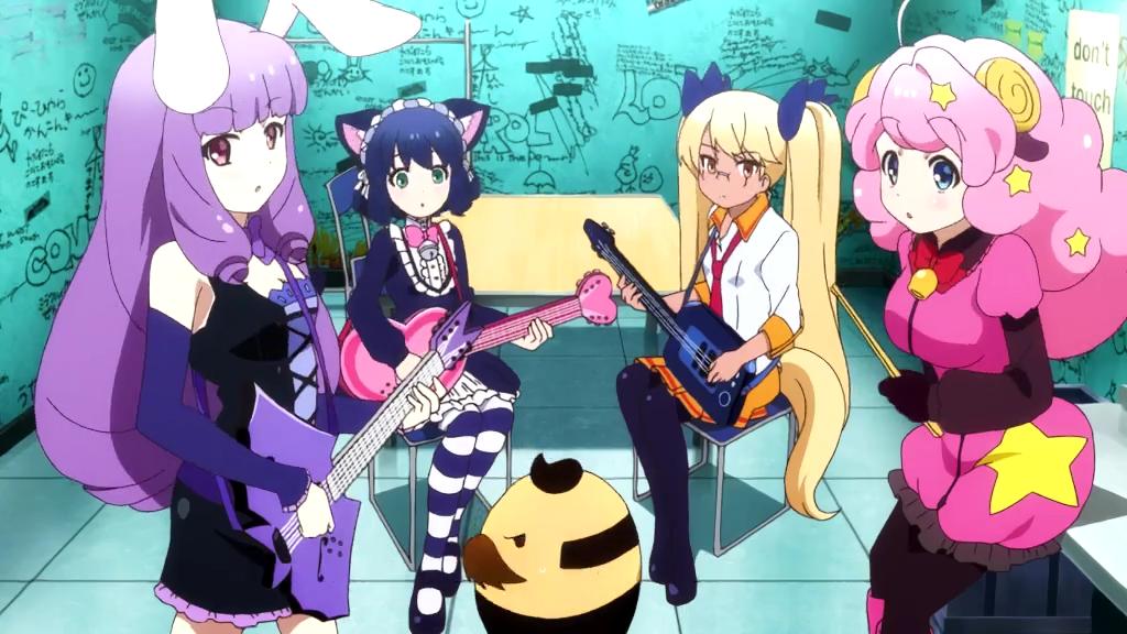 Sanrio's Show By Rock!! Franchise Obtém Novo TV Anime em Janeiro
