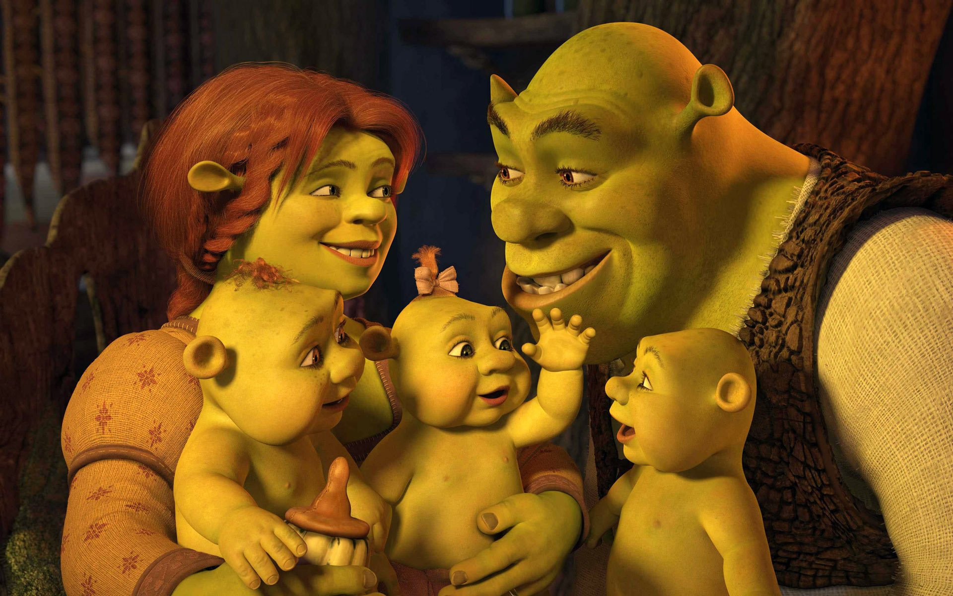 Nice Images Collection: Shrek Desktop Wallpapers
