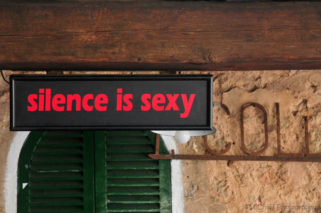Nice Images Collection: Silence Is Sexy Desktop Wallpapers