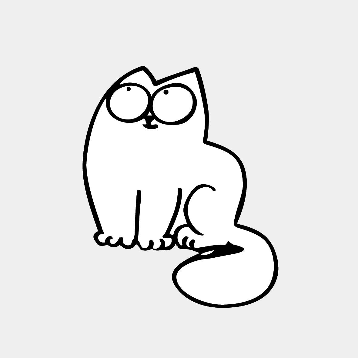 High Resolution Wallpaper | Simon's Cat 1181x1181 px