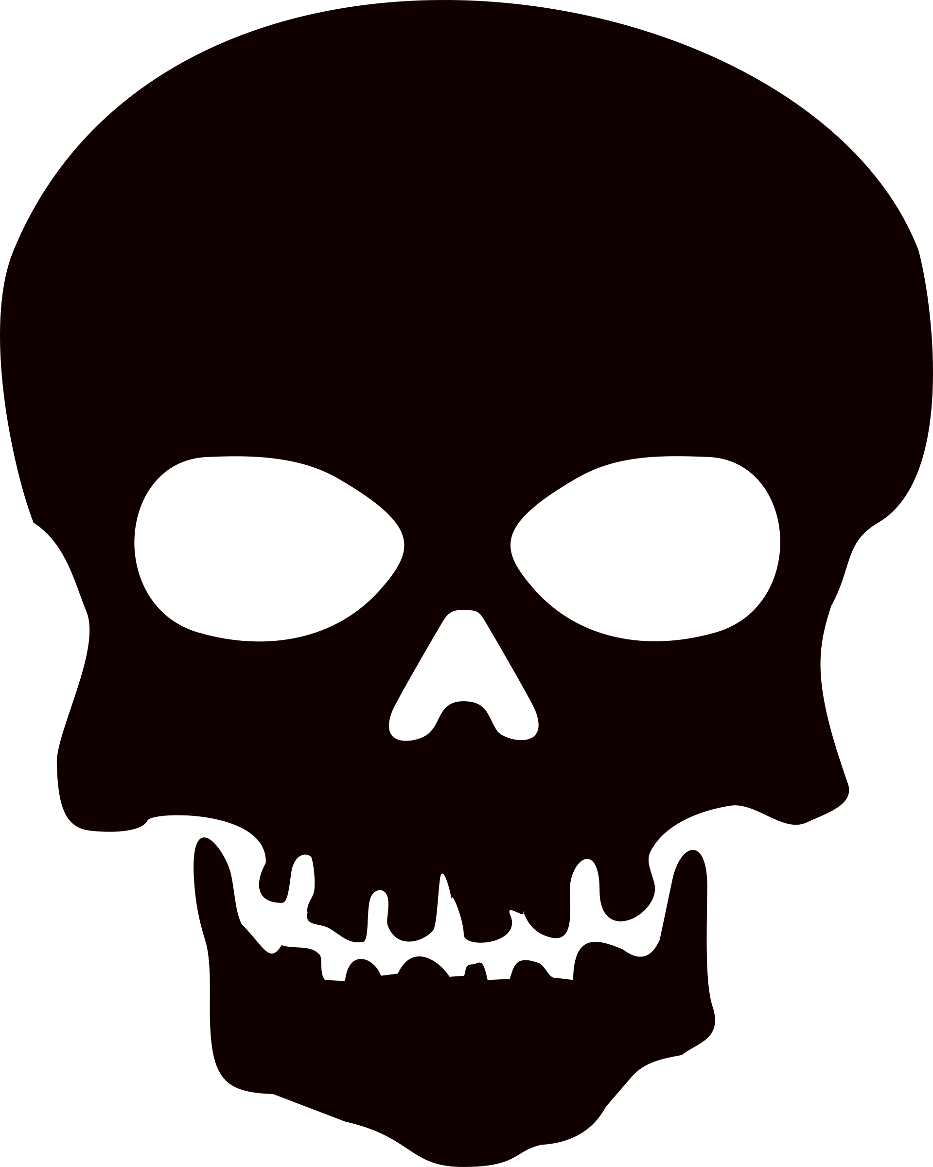 Nice wallpapers Skull 1919x2400px