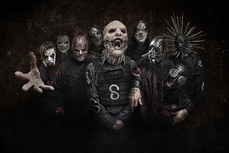 HD Quality Wallpaper | Collection: Music, 800x533 Slipknot