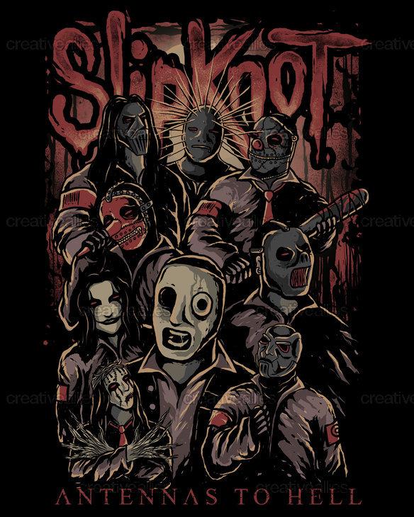 Slipknot Backgrounds on Wallpapers Vista