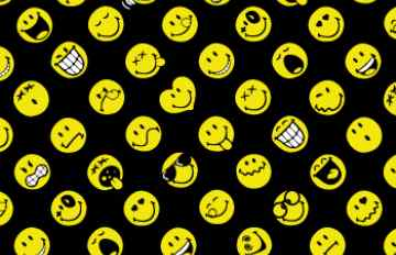 HD Quality Wallpaper | Collection: CGI, 360x232 Smiley