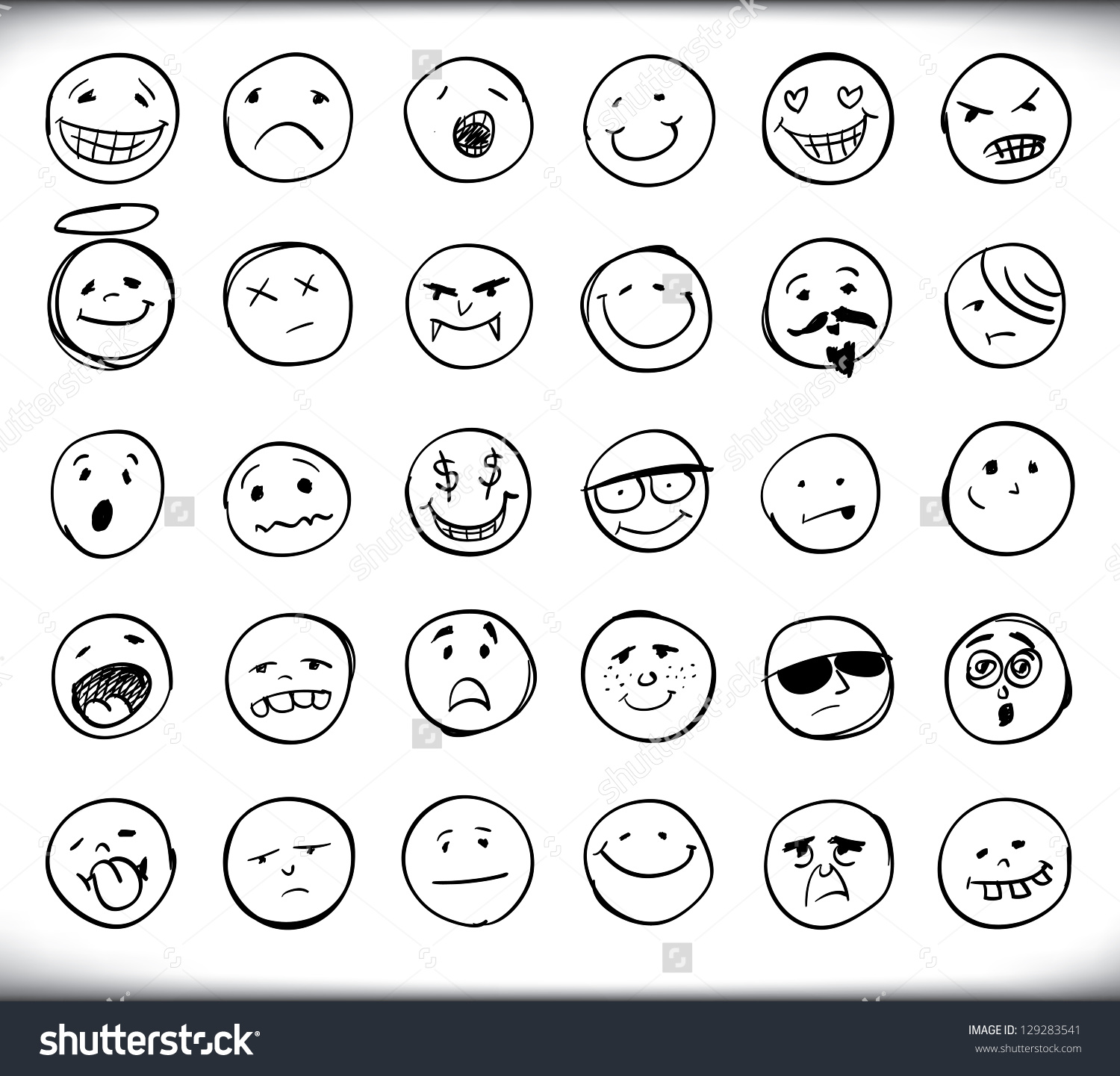 HD Quality Wallpaper   Collection: Artistic, 1500x1441 Smileys