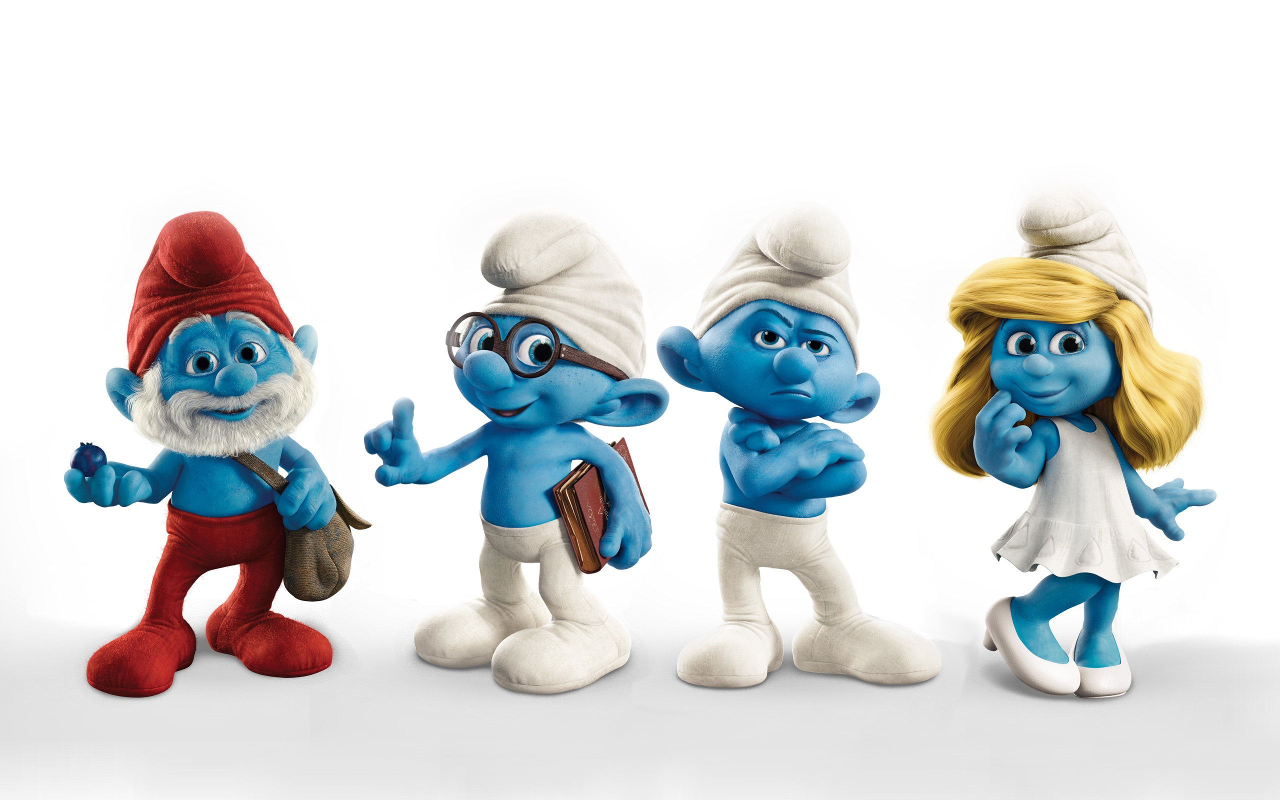 HD Quality Wallpaper | Collection: Movie, 2560x1600 The Smurfs