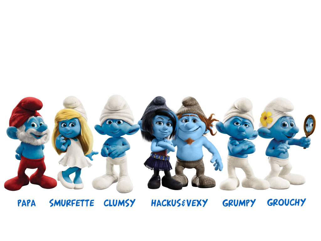 1024x768 > The Smurfs Wallpapers