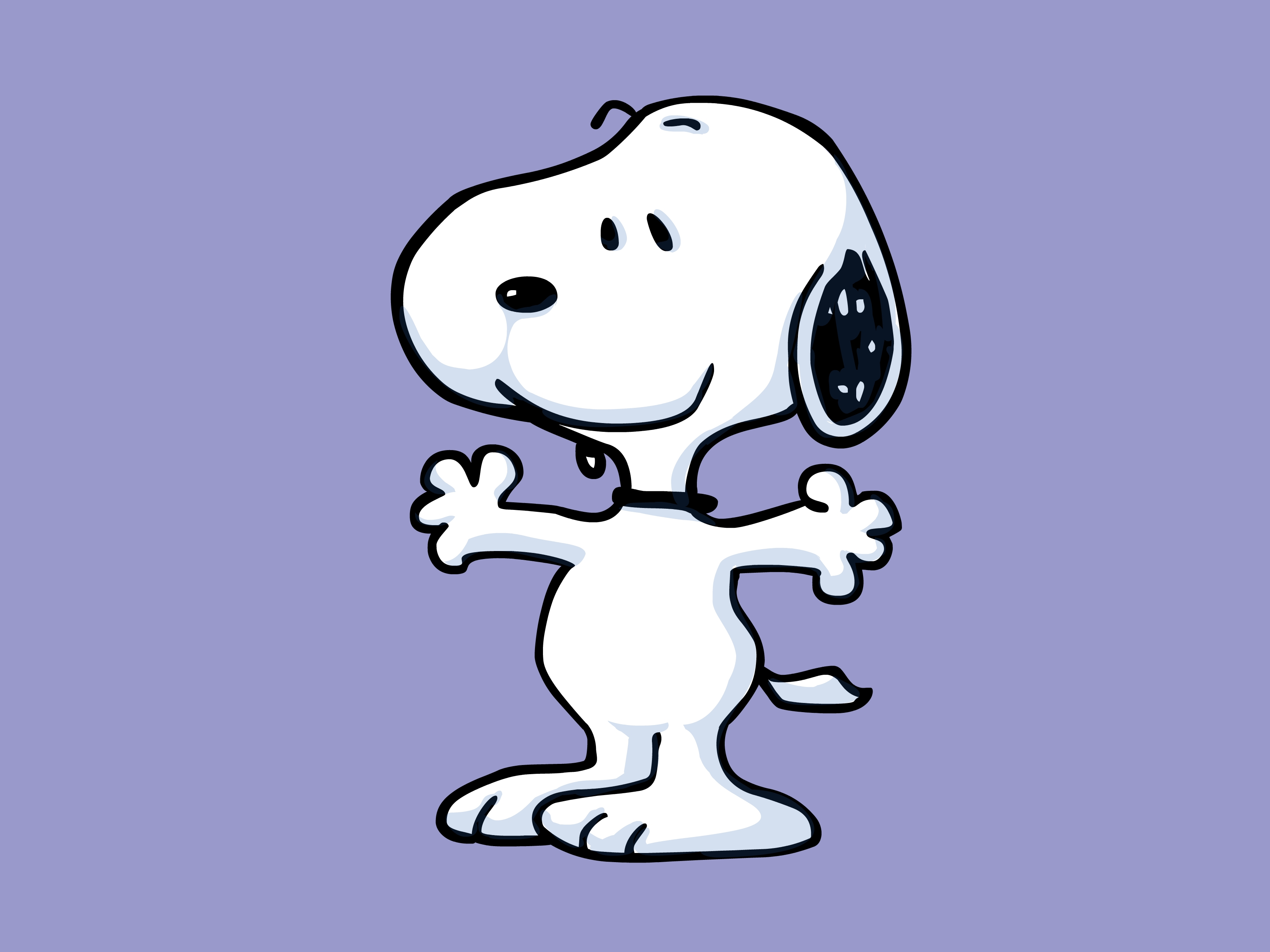 HD Quality Wallpaper   Collection: Artistic, 3333x2500 Snoopy