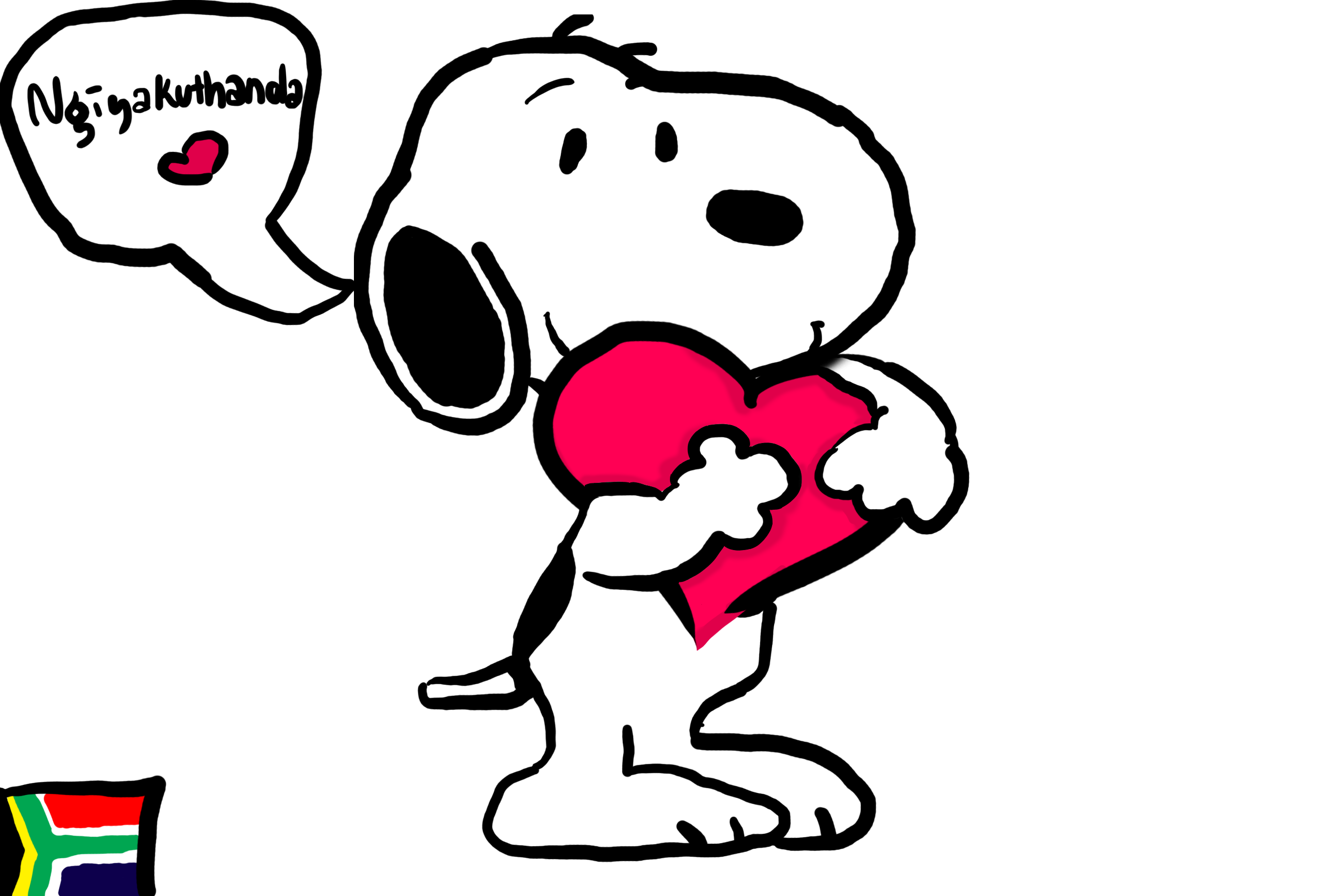 Nice wallpapers Snoopy 2700x1800px