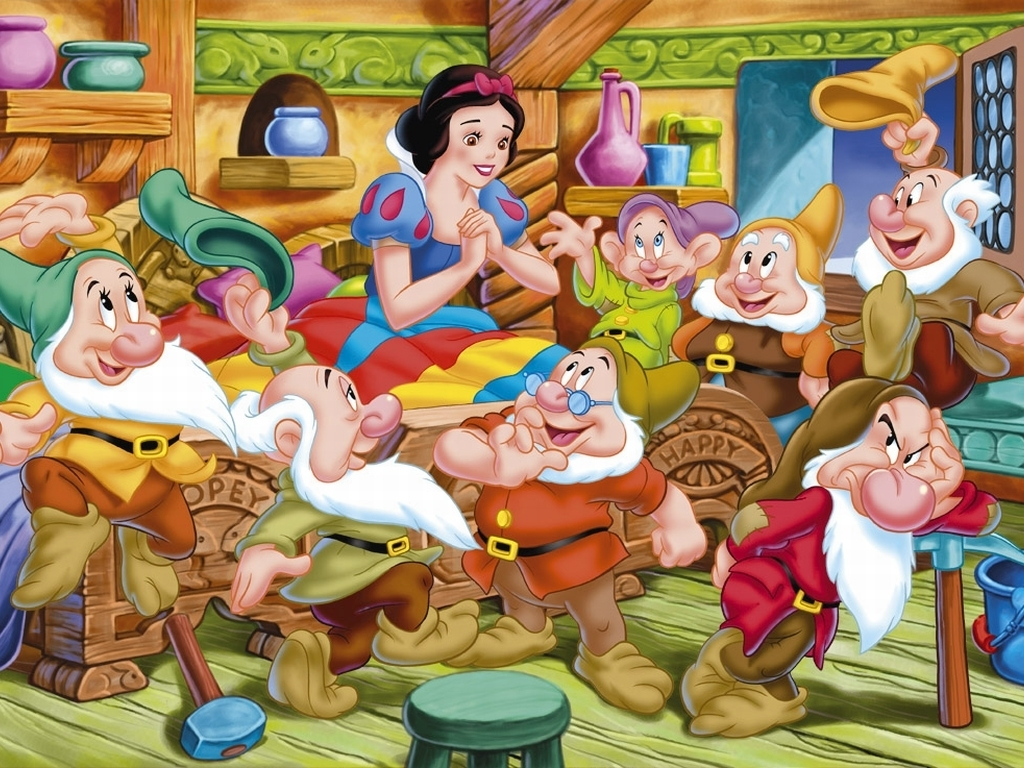 HQ Snow White And The Seven Dwarfs Wallpapers | File 635.69Kb