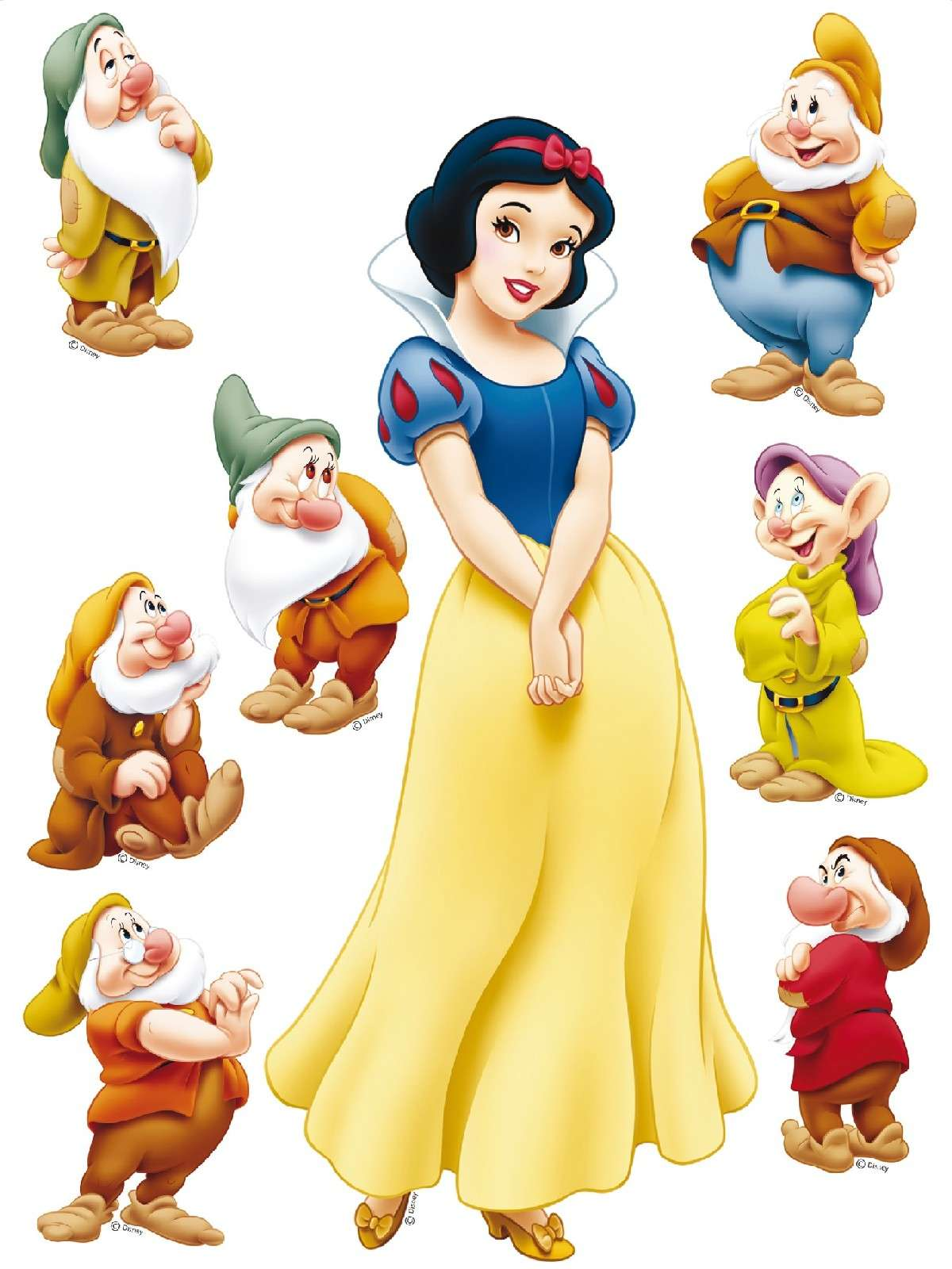 Nice Images Collection: Snow White And The Seven Dwarfs Desktop Wallpapers