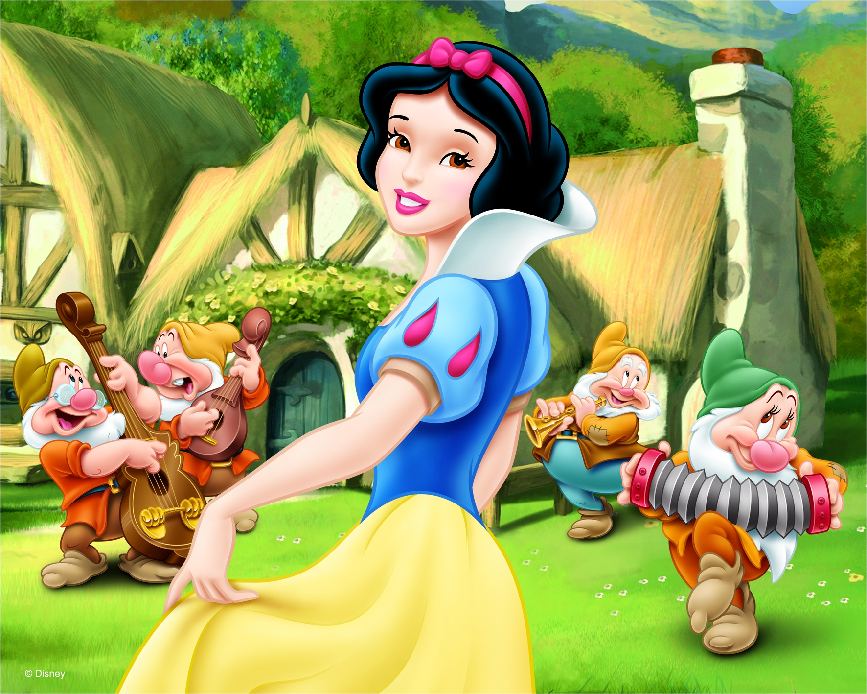 HQ Snow White And The Seven Dwarfs Wallpapers | File 1405.22Kb