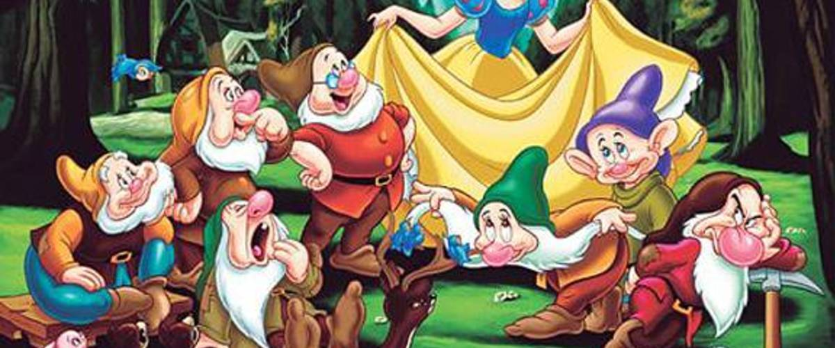 HD Quality Wallpaper | Collection: Anime, 1200x500 Snow White And The Seven Dwarfs