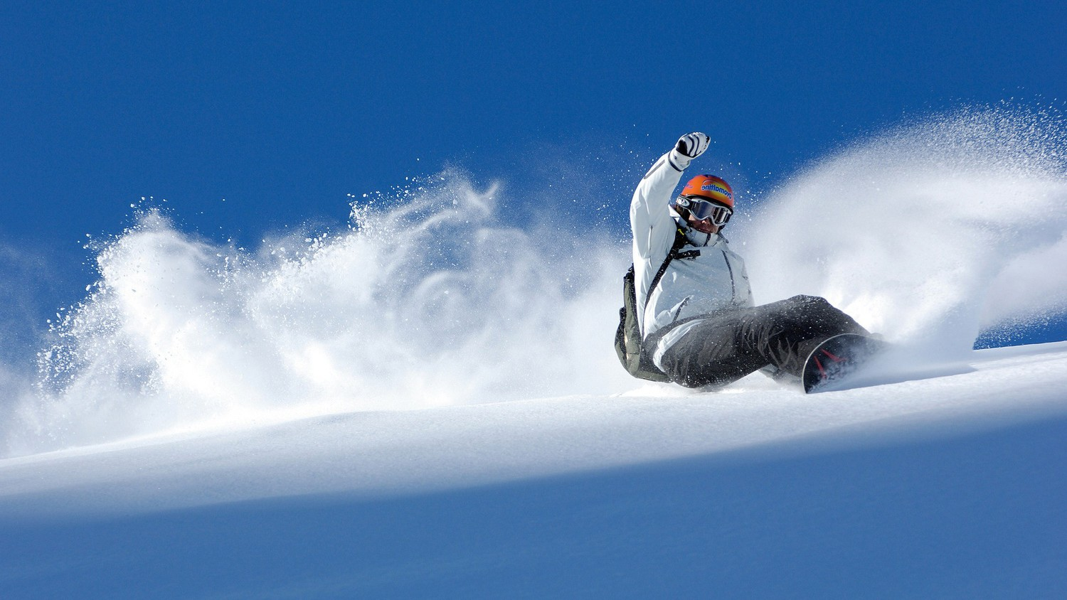 HD Quality Wallpaper   Collection: Artistic, 1500x844 Snowboarding
