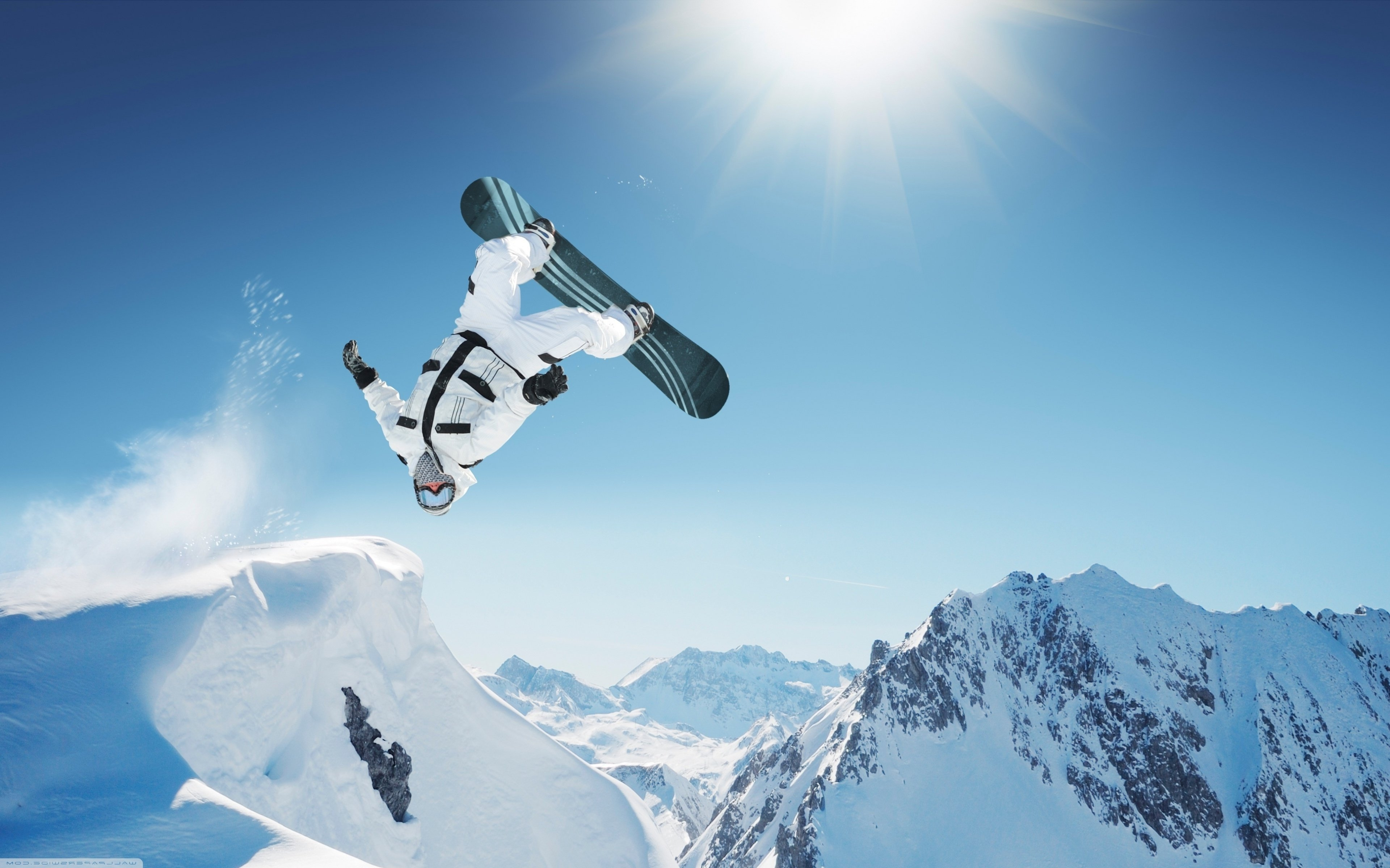 Nice wallpapers Snowboarding 3840x2400px