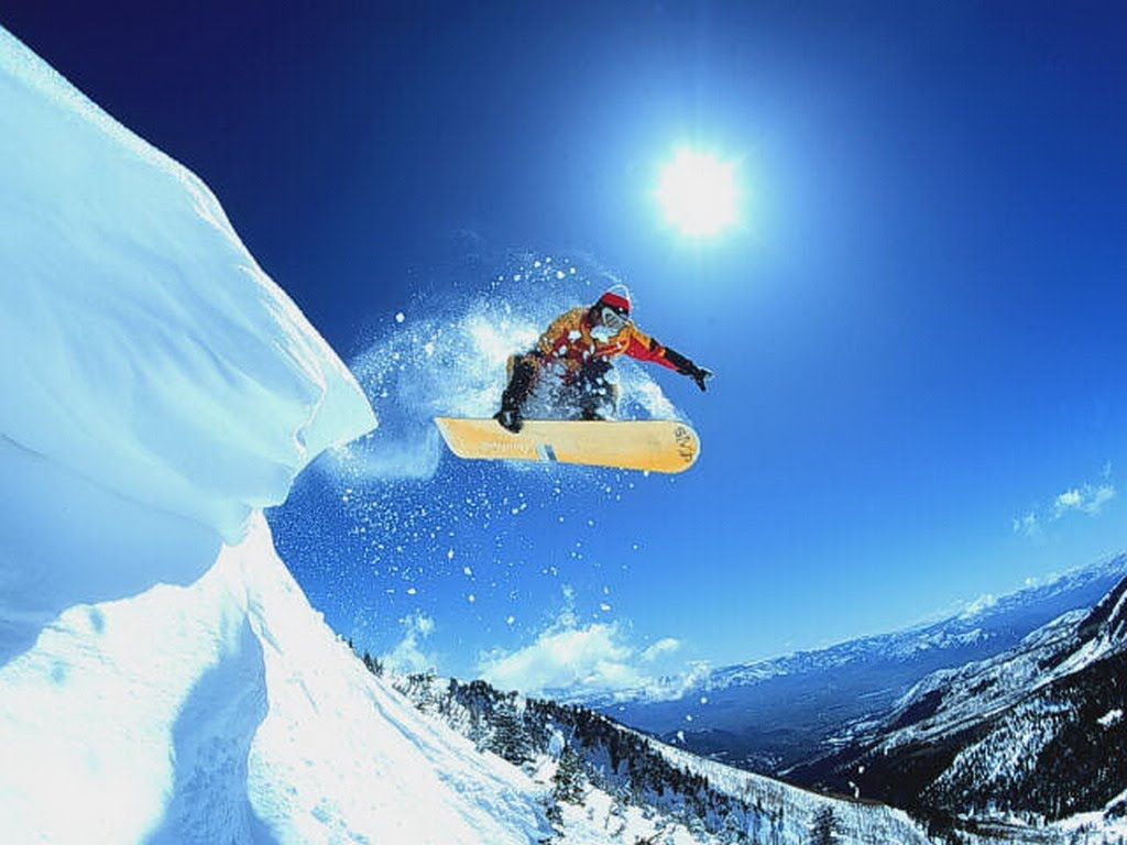 Nice Images Collection: Snowboarding Desktop Wallpapers