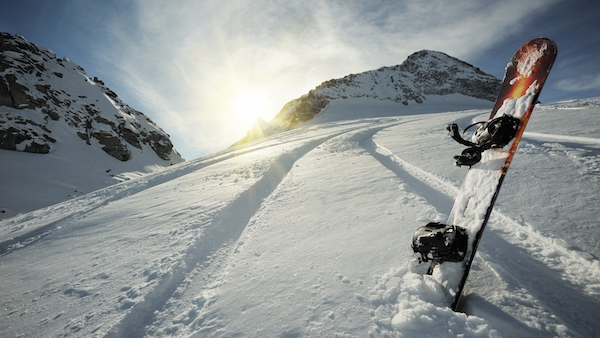 HD Quality Wallpaper   Collection: Artistic, 600x338 Snowboarding