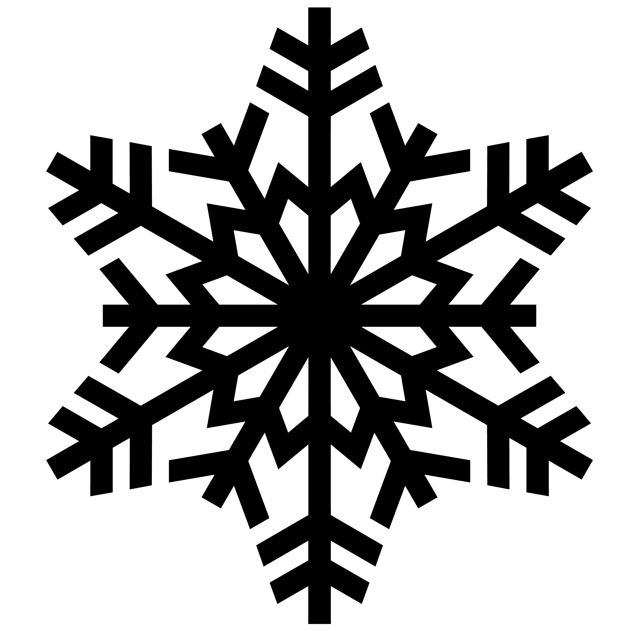 Snowflake Backgrounds on Wallpapers Vista