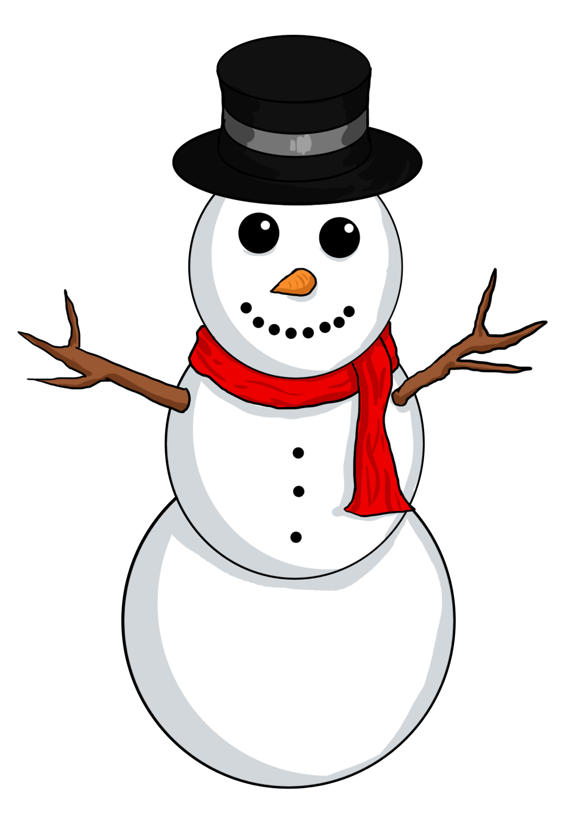 High Resolution Wallpaper | Snowman 1194x1668 px