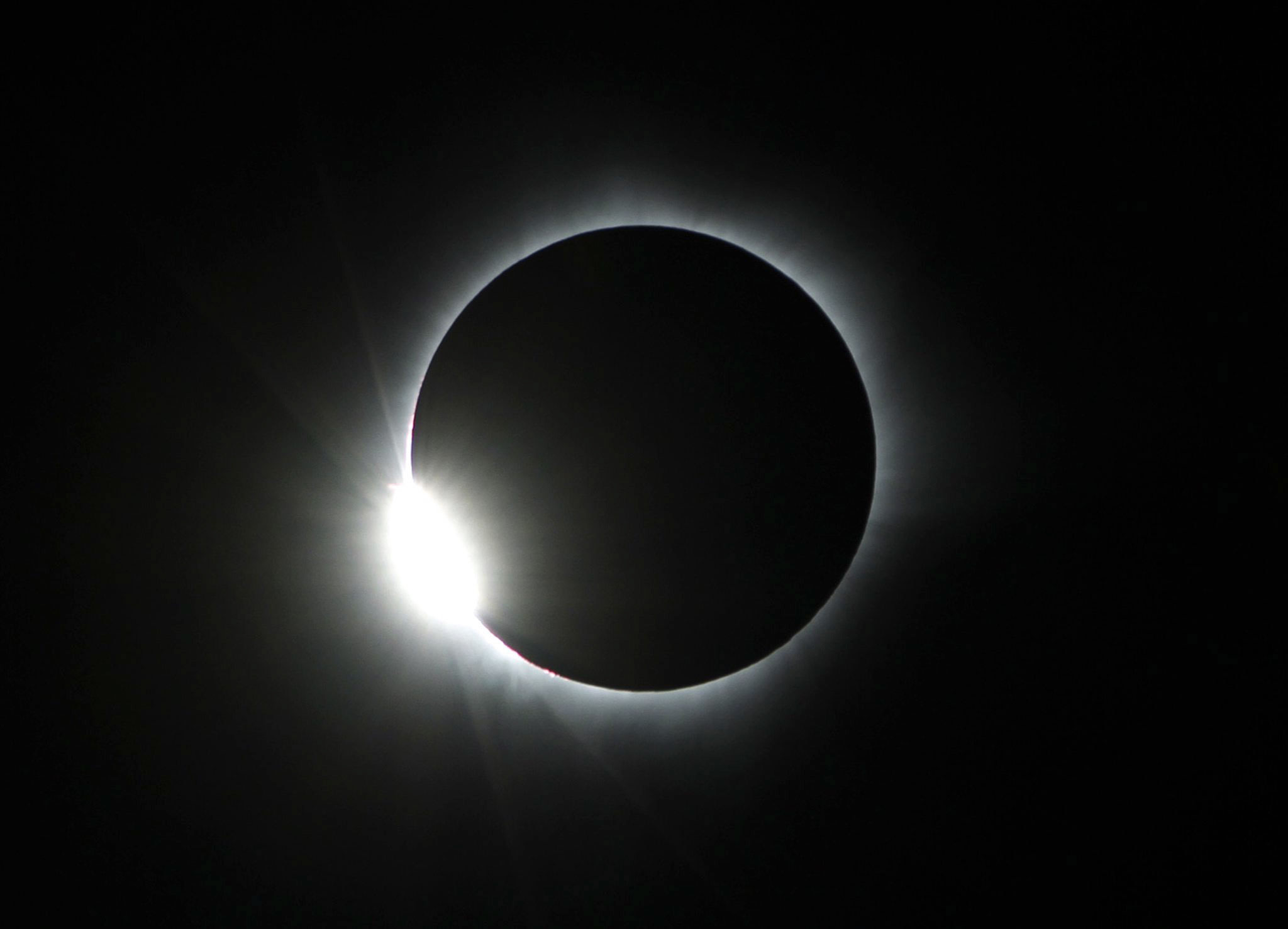 Solar Eclipse Pics, Earth Collection