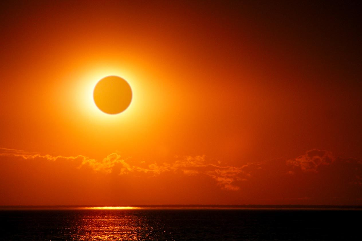 Nice Images Collection: Solar Eclipse Desktop Wallpapers