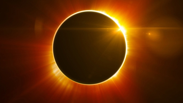 HD Quality Wallpaper | Collection: Earth, 640x360 Solar Eclipse