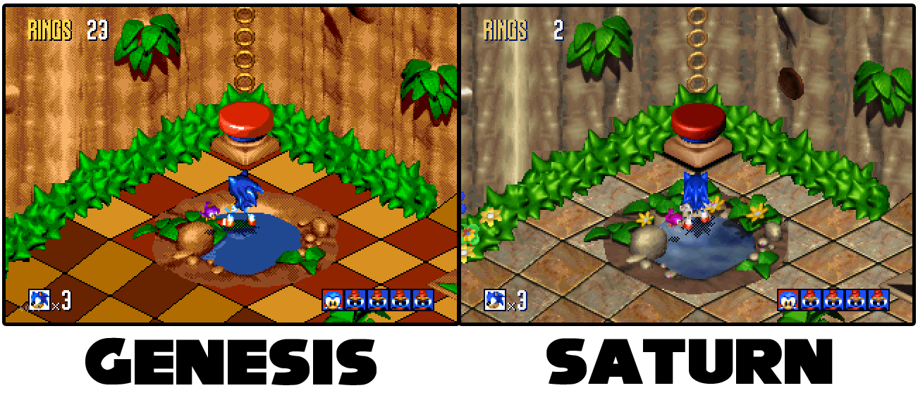 Sonic 3D Blast wallpapers, Video Game, HQ Sonic 3D Blast