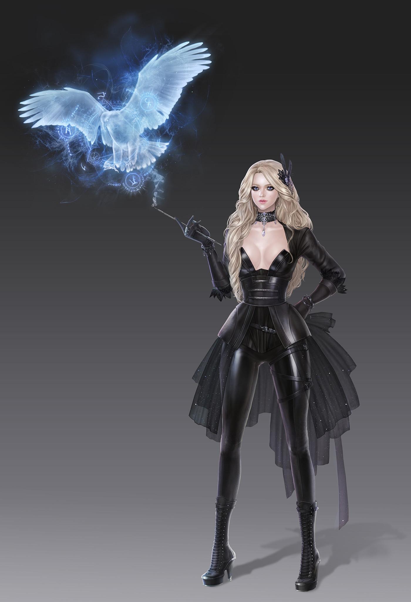 Sorceress Backgrounds, Compatible - PC, Mobile, Gadgets| 1400x2050 px