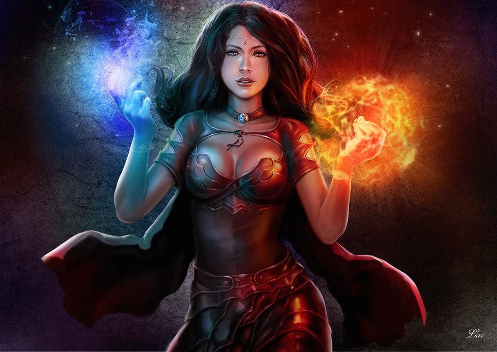 Nice wallpapers Sorceress 1024x726px