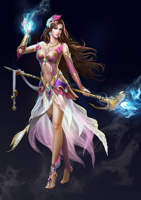 552x781 > Sorceress Wallpapers