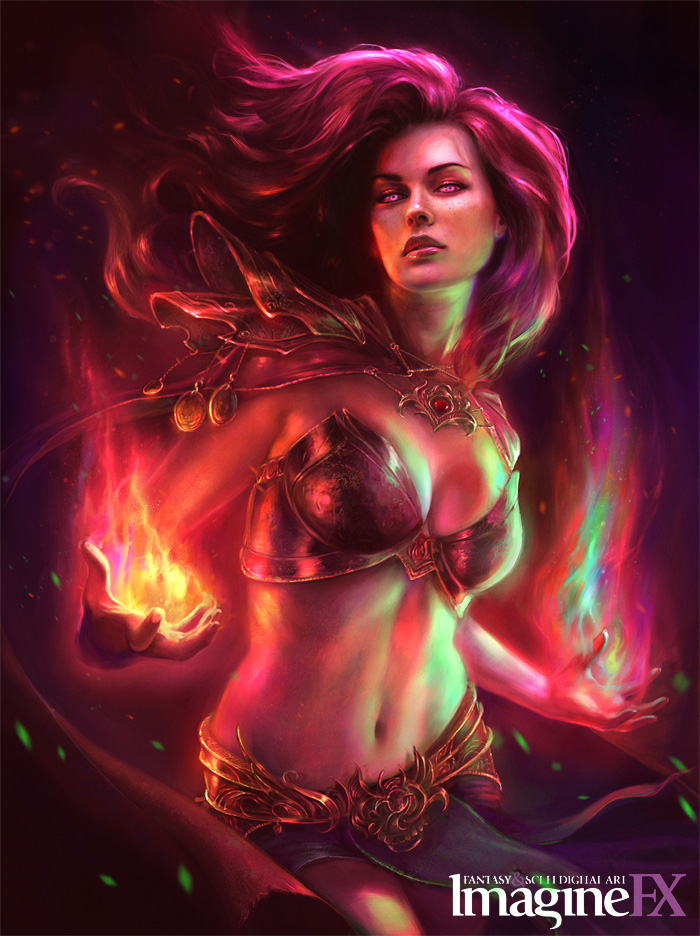 Nice wallpapers Sorceress 700x936px