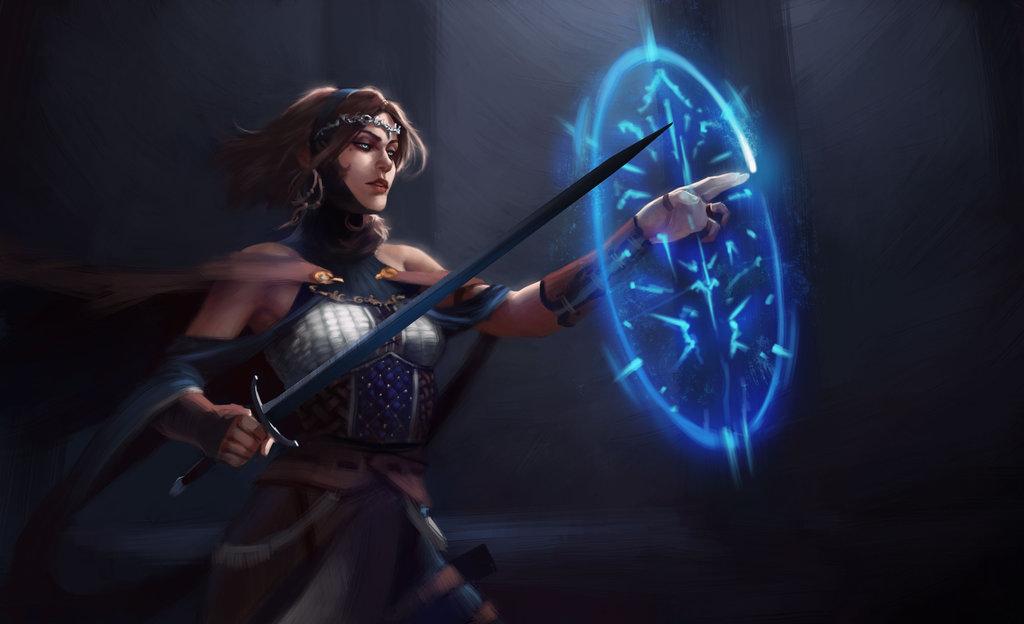 Sorceress Backgrounds on Wallpapers Vista