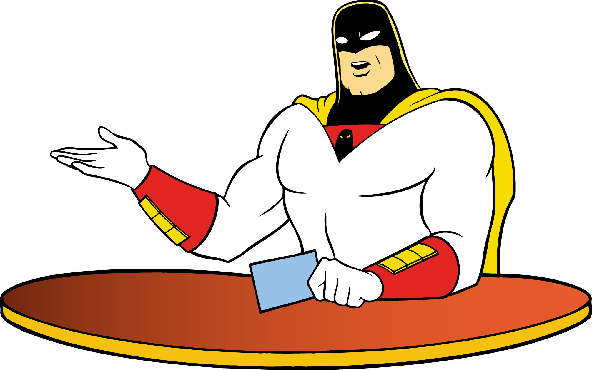 Nice wallpapers Space Ghost 2012x1259px